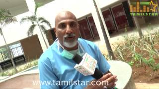 Sharfuddin Shah at Aavikumar Movie Shooting Spot