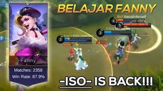 Download Video BELAJAR BERMAIN FANNY DARI -ISO- GESEK TEMBOK TRS | Mobile Legends Indonesia MP3 3GP MP4