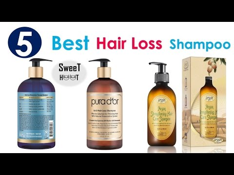 Top 5 Best Shampoo for Hair Loss - Best Hair Loss Shampoo 2018 Review