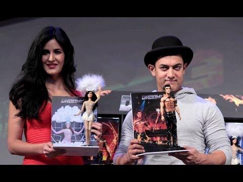 Aamir Khan & Karina Kaif Launches DHOOM 3 Merchandise