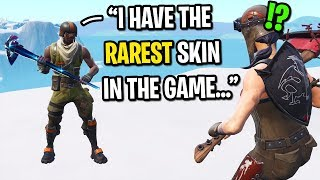 I met a rare AERIAL ASSAULT TROOPER and CARRIED him in Fortnite...