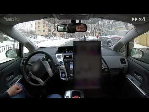 Беспилотный автомобиль «Яндекса» проехал по московским улицам