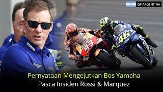 Video Inilah Pernyataan Mengejutkan Bos Yamaha Pasca Insiden Rossi Dan Marquez MP3, 3GP, MP4, WEBM, AVI, FLV April 2018