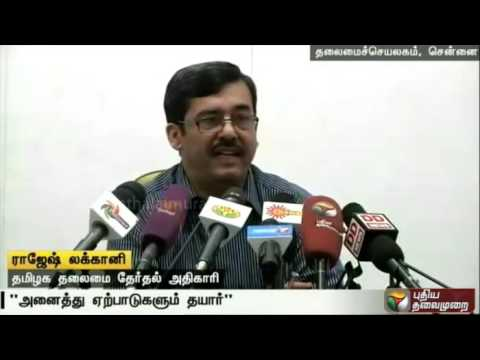 All-arrangements-for-polling-in-the-TN-assembly-elections-completed-says-Rajesh-Lakhoni
