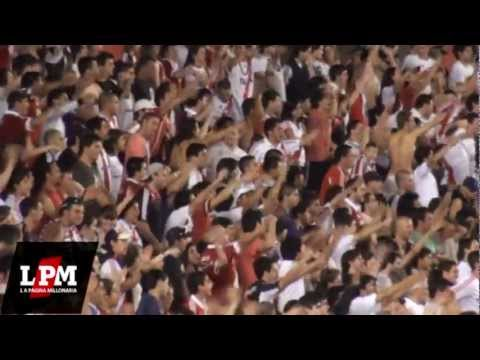 Somos los pibes que alentamos a River Plate - River vs Argentinos - Torneo Inicial 2012 - Los Borrachos del Tablón - River Plate