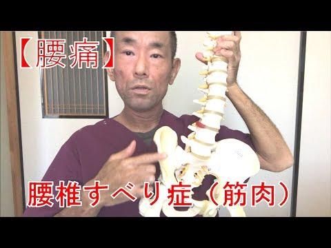 【腰痛】腰椎すべり症(筋肉)②