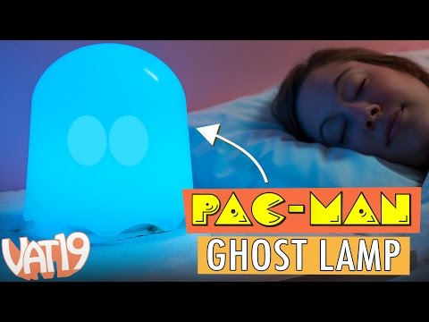 The PAC-MAN Ghost Lamp [Officially licensed]