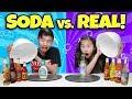 Download Lagu SODA VS. REAL CHALLENGE!!! 13 Weird Soda Flavors! Mp3 Free