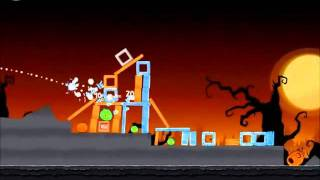 Angry Birds Seasons Walkthrough Trick or Treat 1-15