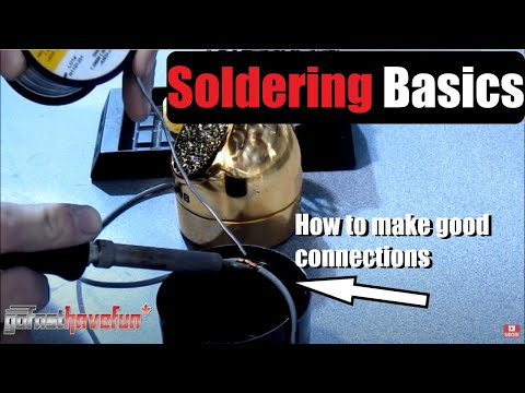 How to solder - http://www.gofasthavefun.ca This is a quick crash course where it comes to soldering basics which I use and find to be very effective. Learn about the tools ...