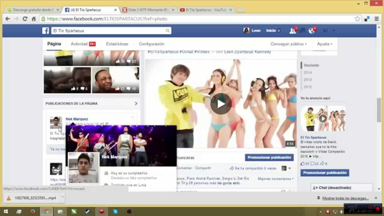 Como Descargar Vídeos de Facebook Fácil y Rápido Método 2015
