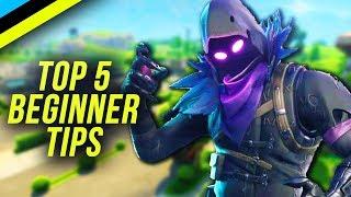 Video FORTNITE Tips For Beginners | 5 Fortnite Tips All Players Should Know MP3, 3GP, MP4, WEBM, AVI, FLV Juni 2018