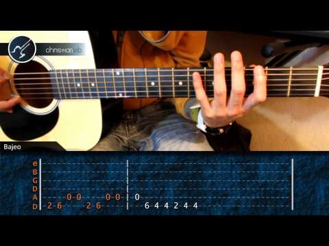 Como tocar Stand By Me en Guitarra (HD) Tutorial