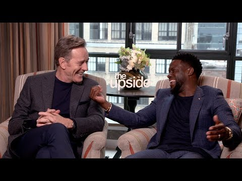 THE UPSIDE: Hilarious Interview with Bryan Cranston and Kevin Hart