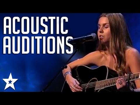 BEST ACOUSTIC GUITAR Covers on Got Talent! | Got Talent Global (видео)