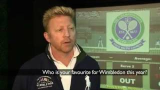 Boris Becker Helps Celebrate 125 Years Of Wimbledon