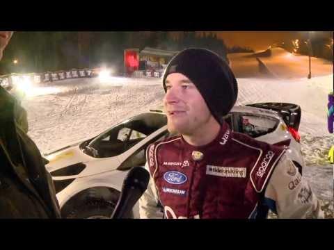 Verdensrekord i hopp med bil på snø?