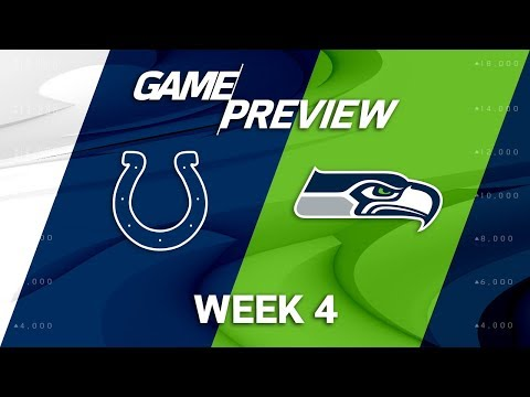 Video: Indianapolis Colts vs. Seattle Seahawks | Week 4 Game Preview | NFL