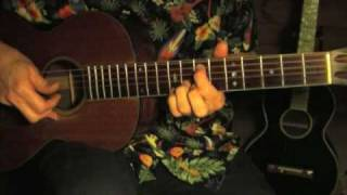 Blues in the key of E Lesson - Hey Hey - Part 1/2 - Big Bill Broonzy/Backwards Sam Firk