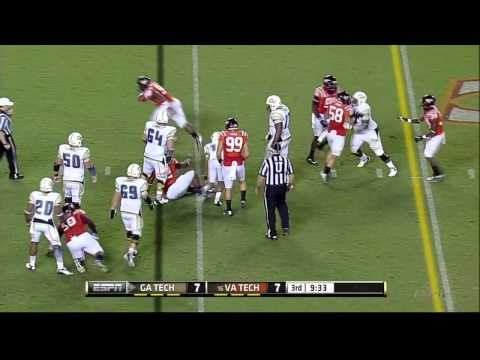 Kyle Fuller vs Georgia Tech 2012 video.