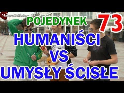 Matura To Bzdura - HUMANIŚCI vs UMYSŁY ŚCISŁE - POJEDYNEK NA WIEDZĘ odc. 73