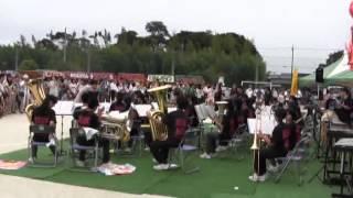 羽黒の夏祭り6・吹奏楽演奏・東部中吹奏楽部