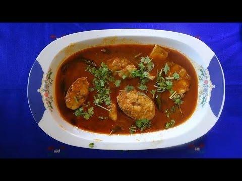 Andhra Chepala Pulusu or Fish Gravy Curry