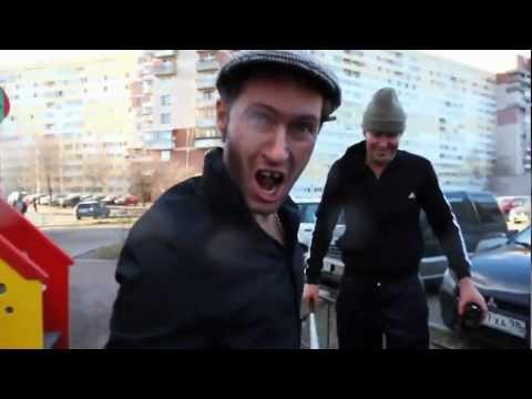 Bailarines rusos callejeros…