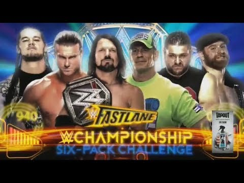 WWE Fastlane 2018 Official and Full Match Card