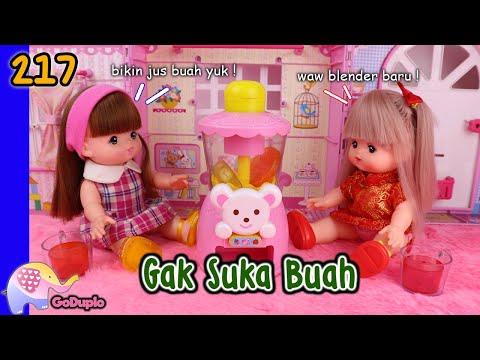 Mainan Boneka Eps 217 Nene gak suka buah - GoDuplo TV