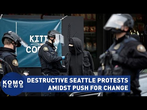 Destructive Seattle protests continue amidst push for change
