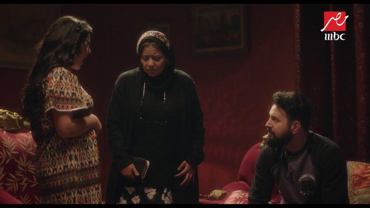 #عائلة_الحاج_نعمان   كمال يصفع زوجته توحة بسبب أمه