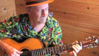 Toe Tappin' Blues - Fingerpicking Blues Instrumental in drop D tuning