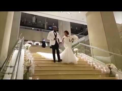 BANKYW & ADESUA ETOMI WHITE WEDDING IN SOUTH AFRICA | BAAD2017
