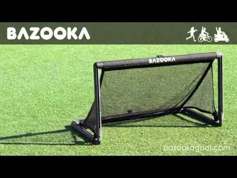 Bazooka Goal - das Pop up Tor mit dem festen Rahmen