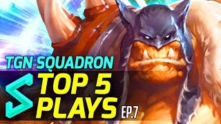 TGN Squadron's Top 5 Plays in Heroes of the Storm | Episode 7 | Heroes of the Storm Gameplay, Blizzard Entertainment, World of Warcraft