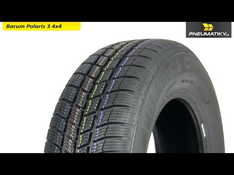 Youtube Barum Polaris 3 4x4 255/55 R18 109 H XL Zimní