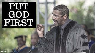 Video Put God First - Denzel Washington Motivational & Inspiring Commencement Speech MP3, 3GP, MP4, WEBM, AVI, FLV Maret 2018
