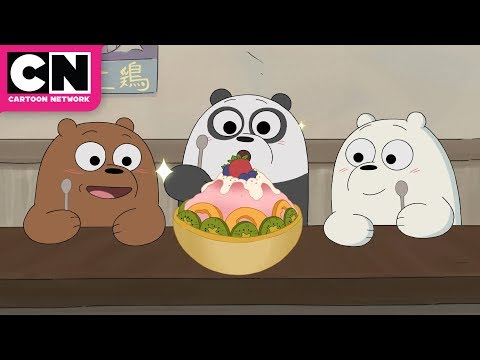 We Bare Bears   Baby Bears Try Ramen   Cartoon Network
