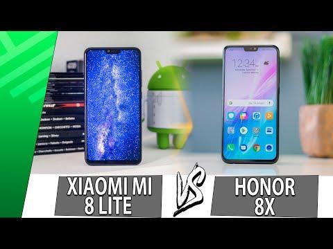 Modelos de uñas - Xiaomi Mi 8 Lite VS Honor 8X  Enfrentamiento  Top Pulso