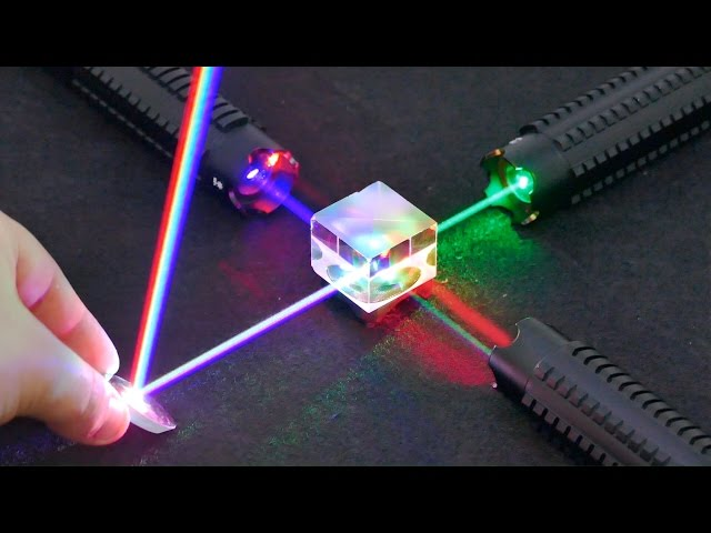 Experiments with lasers that will blow your mind