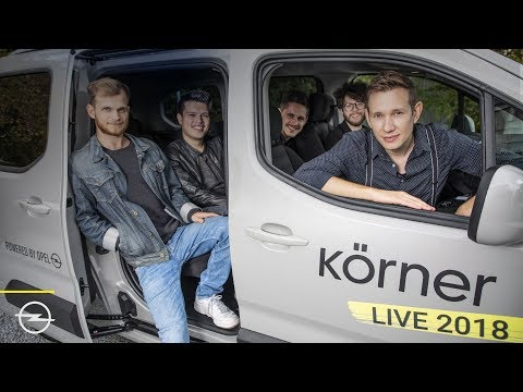 Newcomer: Pop Singer Körner Starts On Germany Tour