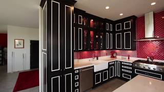 Tour of a one of a kind custom kitchen remodel in city of Anaheim Orange County