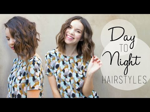 long - Easily change up your hairstyle to a fun night look! AND be sure to check out my video on the All Things Hair US channel here: http://bit.ly/ATH_in Tweet me! http://www.twitter.com/heyingridnilsen...