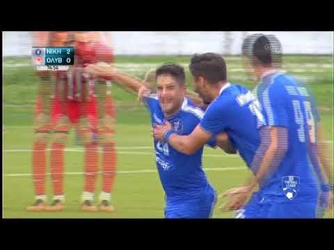 Football League:  ΝΙΚΗ ΒΟΛΟΥ-ΟΛΥΜΠΙΑΚΟΣ ΒΟΛΟΥ  | ΓΚΟΛ 2-0 | 16/11/2019 | ΕΡΤ
