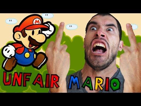 QUE COMIENCE LA RABIA! | Unfair Mario – JuegaGerman