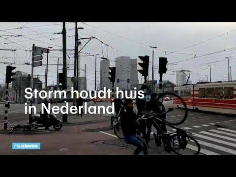 In beeld: storm in Nederland - RTL NIEUWS