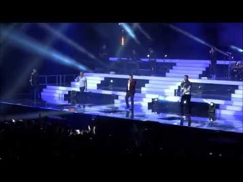 BOYZONE // BZ20 TOUR // DUBLIN (28.11.2013) (видео)