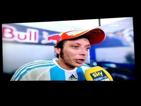 intervista valentino rossi - gp argentina 2015