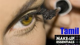 How to Apply Winged Eyeliner - Make Up Essentials Episode 4 in Tamil